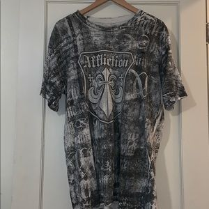 Affliction Men's knit top